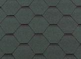 Гибкая битумная черепица RoofShield Стандарт Classic Зеленый с оттенением
