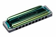 VOX Continental Type-1-A Губная гармоника, тональность Ля мажор, цвет зеленый
