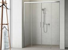 Стеклянная душевая дверь Radaway Idea DWD 140 см [387124-01-01]