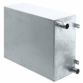Бак сточный из нержавеющей стали Shurflo 3414-0102 40 л 19 и 38 мм