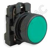 Лампы, кнопки, звонки, переключатели Schneider Electric Кнопка зеленая без фиксации 1но в сборе Schneider Electric, XB5AA31
