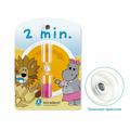 Miradent Timer песочные часы на присоске для контроля времени чистки зубов