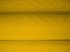 Ткань Текстэль Ложная Сетка 135 Премиум Плюс, Термотрансфер, 135 г/кв.м, 180 см (Желтая Канарейка) (21 пог.м)