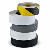 Эластичная противоскользящая лента, черно-желтая (50 мм x 18,3 м) {M3WR050183}