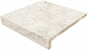 Клинкер Gresmanc Ступень фронтальная Evolution White stone 1 Rect