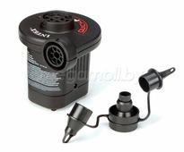 Электрический воздушный насос 220В/12В Quick-Fill AC/DC Electric Pump Intex 66632