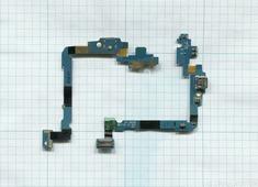 Разъем Micro USB для Samsung i9250 (плата с системным разъемом, микрофоном и шлейфом)