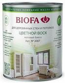 2087 Цветной воск BIOFA (Биофа) - Бесцветный, 0.375 л, Производитель: Biofa