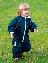 Непромокаемый комбинезон для детей (полуночно-синий)