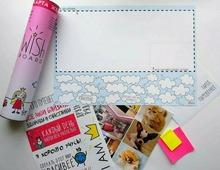 """Карта визуализации """"Wish Board"""" для девочек"""