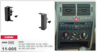 Переходная рамка для установки магнитолы CARAV 11-005 - Audi A4/A6