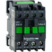 Контактор 3-х полюсный 9A 1НО 380B AC Schneider Electric, LC1E0910Q5