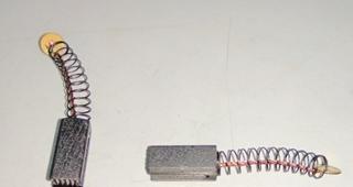 щетки угольные в сб. к-т (2 шт.) SS2835AE WORTEX OS250-08