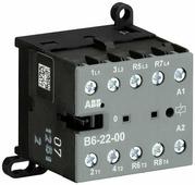 Миниконтактор B6-22-00-84 9A (400B AC3) катушка 110-127В AС ABB, GJL1211501R8004