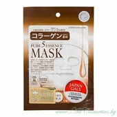 JAPAN GALS Pure 5 Essence Маска для лица, с коллагеном | 1шт | Pure 5 Essence Mask, Collagen