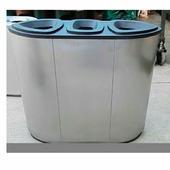 Офисная урна для раздельного сбора мусора Artbin Grave-3