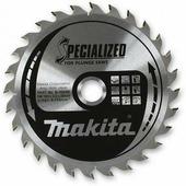 Пильный диск для дерева, 165x20x1.6x28T (для погружных пил), MAKITA B-31550