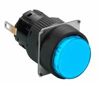 Сигнальн. лампа, 16 мм, синяя, круг. Schneider Electric, XB6EAV6JP