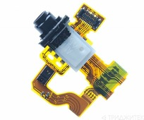 Коннектор SIM карты и карты памяти Sony D2302 (M2 Dual)