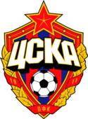 Наклейка на авто ЦСКА Логотип 10 см х 14 см