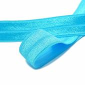 Лента эластичная, цвет F205 голубой
