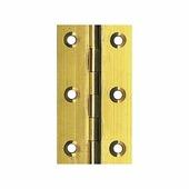 Петля дверная из полированной латуни CIM 04-08 1411-1303 65 x 35 мм