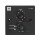 JBL CSR-2SV-BLK Настенный контроллер, 2-позиционный селектор источника и управление громкостью. Цвет черный.