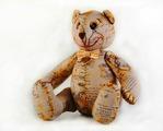 """Скидка! Игрушка своими руками из текстиля """"Винтажный Мишка"""", набор для творчества (Перловка)"""