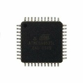 микроконтроллер RISC Atmel , TQFP ATmega8535L-8AU