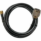 Кабельная сборка 5D-FB / RG8x - 1 метр, N-male - N-female / SMA-male / RP-SMA-male для антенн 2G 3G 4G LTE GSM / RP-SMA-female