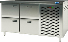 Стол холодильный EQTA СШС-4,0 GN-1400 U