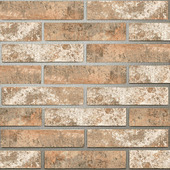 Golden Tile London: Brickstyle beige 25х6