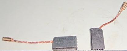 щетки угольные AG1207-3 (2шт) WORTEX AG1251-35