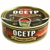 Осетр в томатном соусе Ecofood Armenia 240г