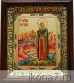 Татьяна Римская (19х22), темный киот (Женские именные иконы)