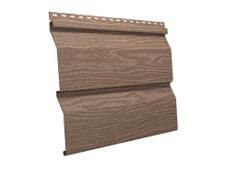 Сайдинг наружный виниловый Ю-пласт Timberblock Кедр натуральный