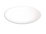 Тарелка из неламинированного картона, круглая, d170 (в упаковке 1600 шт.)