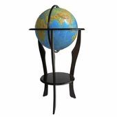 Напольный рельефный физический глобус, d=42 см Глобусный мир 10402