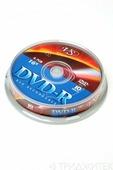 Записываемый компакт-диск VS DVD-R 4.7Gb 16x CB/10, 1 штука