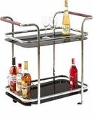 Сервировочный стол Halmar Bar-7 (черный)