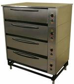 Шкаф жарочно-пекарский Тулаторгтехника ЭШП-4с(у) нержавеющая сталь