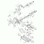 Опора статора для 5704R Makita (MKT-638070-5)