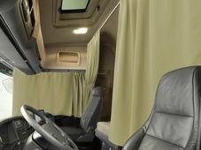 Комплект автоштор Эскар Blackout - auto XLK, бежевый крем, 2 шторы 240 х 100 см, 2 шторы 120 х 160 см, 2 подхвата, 2 гибких карниза 3 + 5 м
