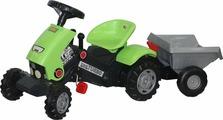 Полесье Каталка-трактор Turbo-2 с педалями и полуприцепом