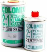 Лак автомобильный акриловый бесцветный 2:1 COLOMIX 2K STANDART