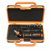 Набор отверток реверсивных поворотных, для ювелирных и точных работ, с гибким удлинителем, комплектом бит и головок (69пр.)в кейсе. BM-30314269 BaumAuto