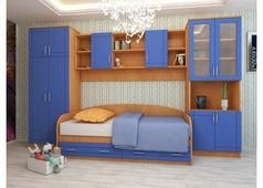 Набор мебели Егорка (ольха, синий)
