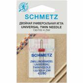 Игла двойная универсальная SCHMETZ TWIN №90/4 (1 шт.)