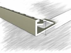 Уголок для плитки L-образный 12мм, анод. шампань 270 см
