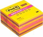 """Клейкая бумага для заметок Post-it SuperSticky """"Бабл гам"""", 738389, 7,6 x 7,6 см, 360 листов"""